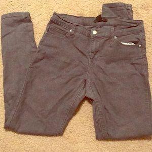 Forever 21 grey skinny jeans